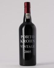 Krohn 2005 Vintage Port 0.75