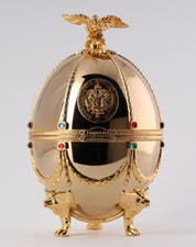 Vodka Imperial Collection in Gold Egg 0.70