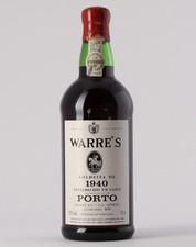 Warre's 1940 Colheita Port 0.75